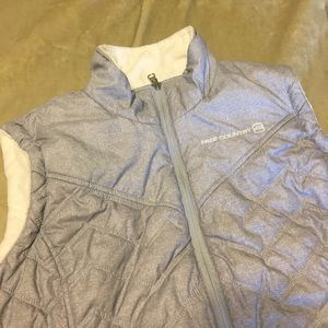 Free Country :: reversible zip up vest - size XL